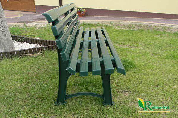 Meble Ogrodowe Plastikowe Promocje : ogrodowa ATENA z oparciem  zielona  Meble ogrodowe  Plastikowe