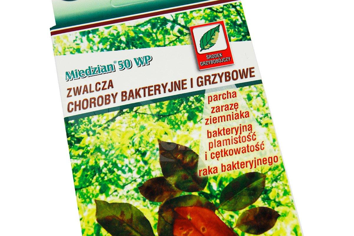Miedzian 50 Wp 15 G środek Grzybobójczy Fungicyd Do Ochrony