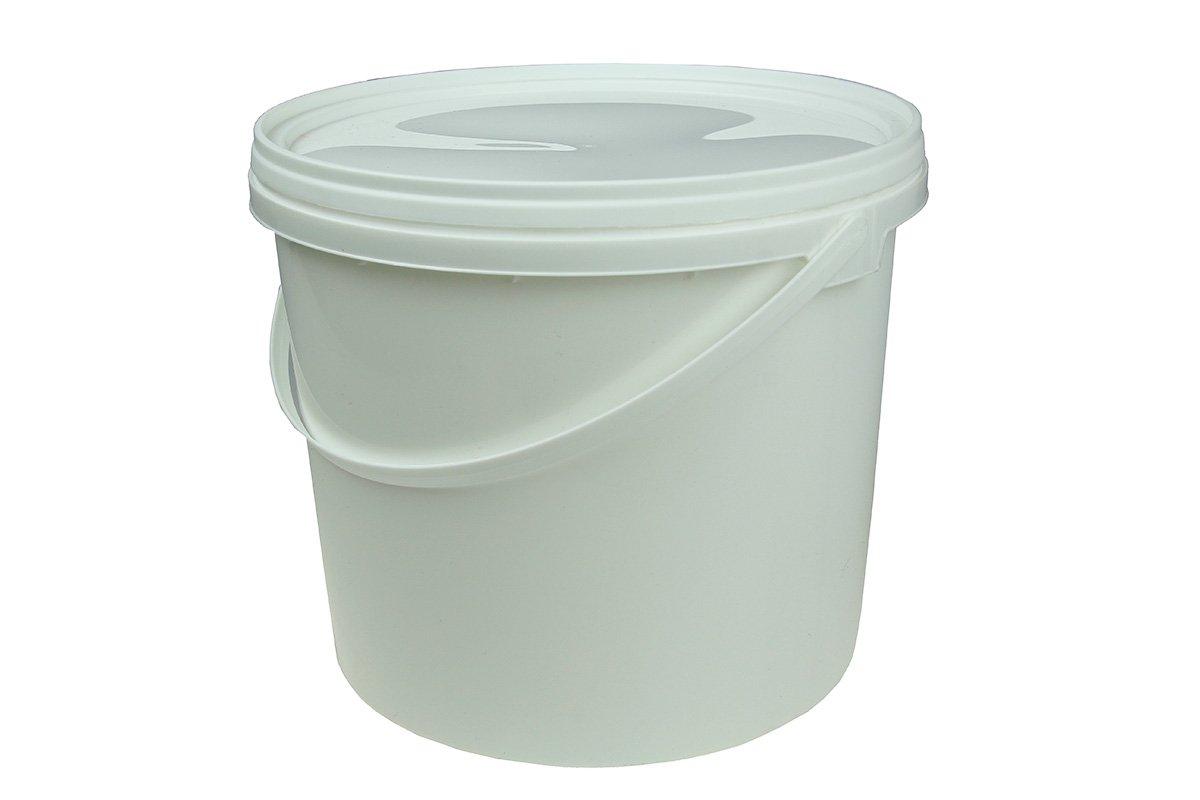 Zaawansowane Wiadro plastikowe z pokrywą, wiaderko spożywcze z atestem do KQ05